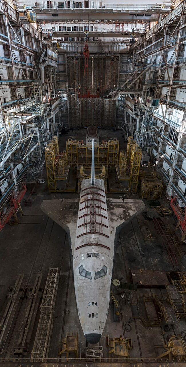 urbex exploration kazakhstan baikonour bourane buran navette shuttle