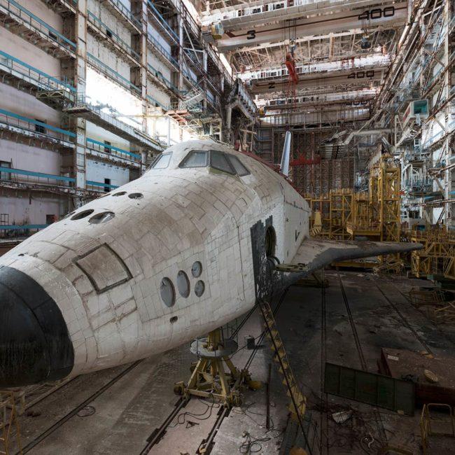 urbex exploration kazakhstan buran bourane shuttle