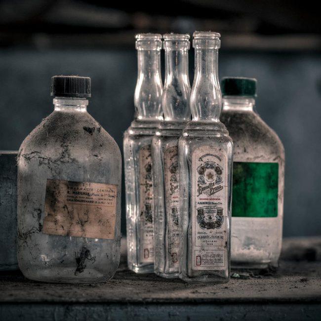 urbex exploration france bouteille alcool