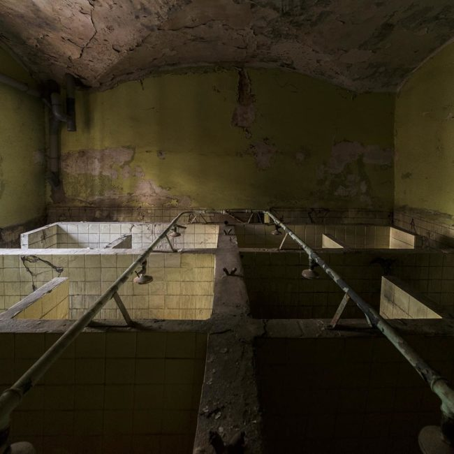 urbex exploration france douche prison sainte anne avignon