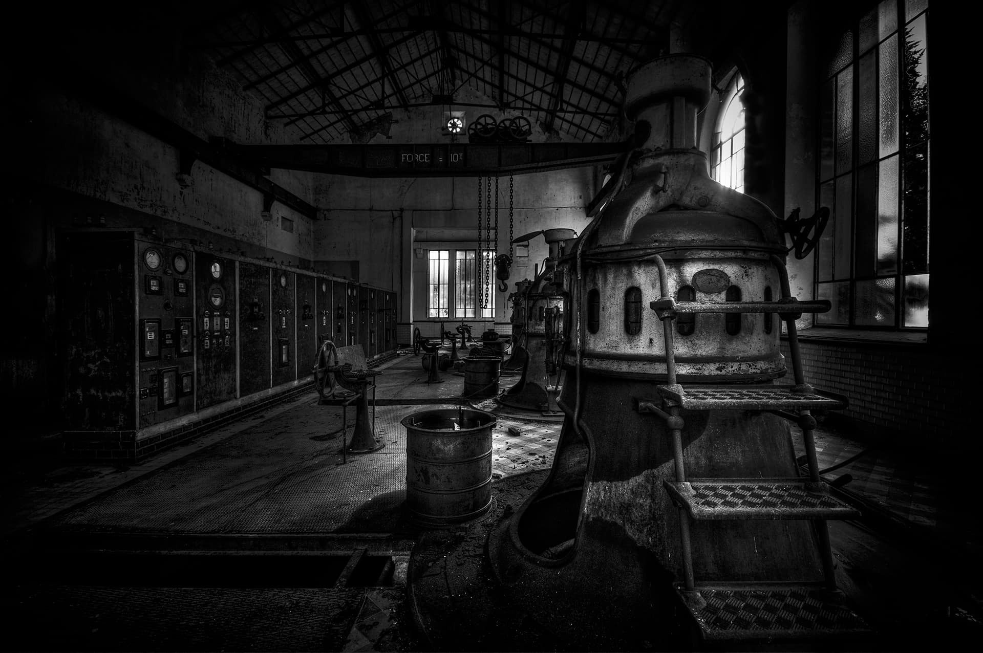 urbex exploration france station pompage