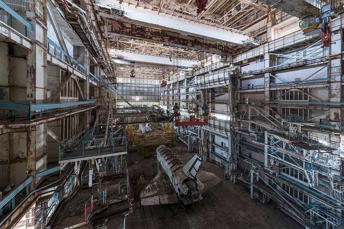 Buran Projet 2018 urbex baikonour exploration buran bourane mzk