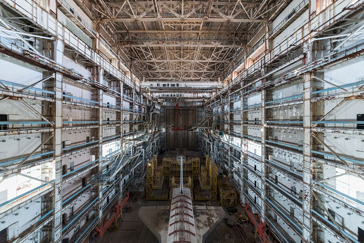 Buran Projet 2018 urbex baikonour exploration buran bourane navette mzk 1