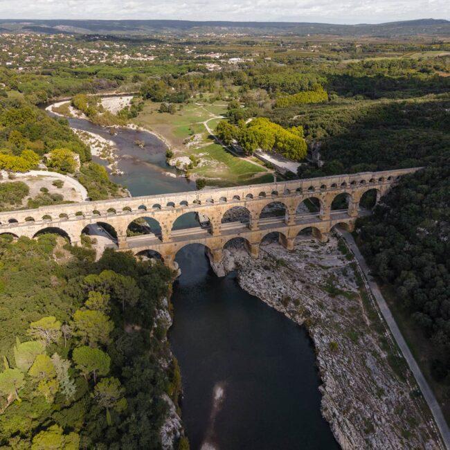 urbex-drone-dji-mavic-exploration-pont-gard