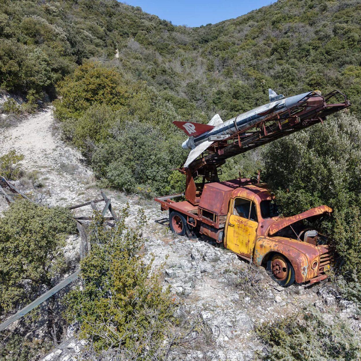 urbex-drone-dji-mavic-air-exploration-missile-matra
